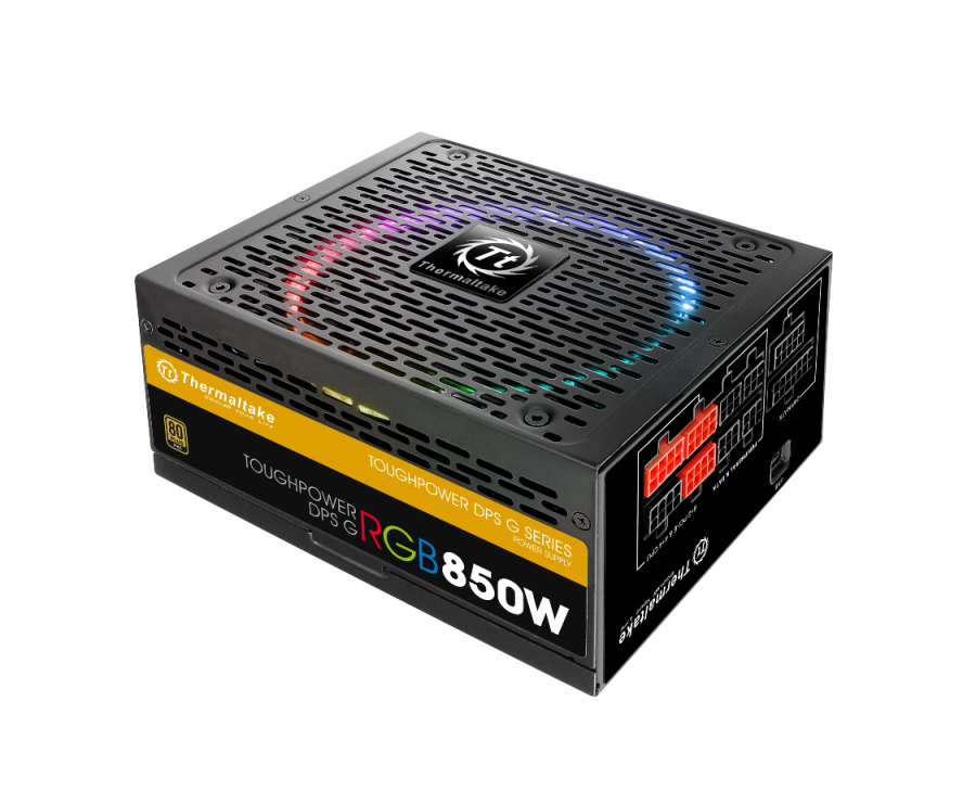 Thermaltake Toughpower DPS G RGB Gold Series Smart Power Supply Unit