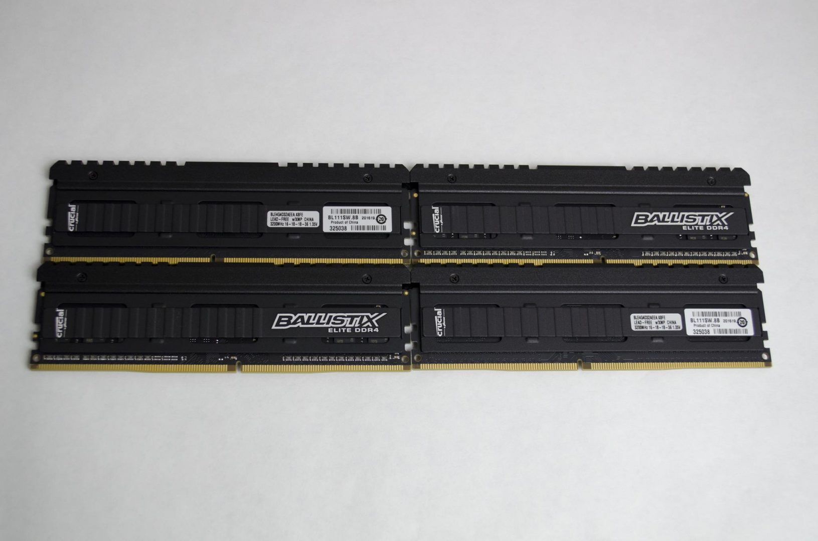 crucial ballistix elite ddr4 3200mhz ram review