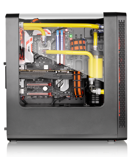 Thermaltake View 27 with an optional choise of the PCI-e X16 Riser Cable
