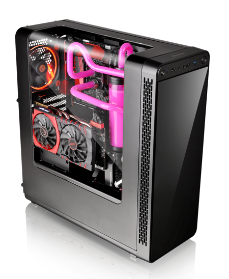 Thermaltake View27 Gull-Wing Window ATX Mid Tower Chassis _2