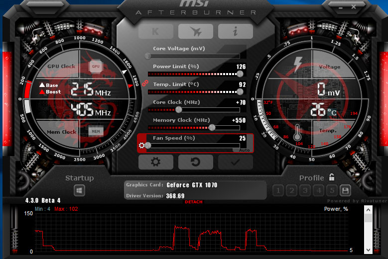 msi 1070 software