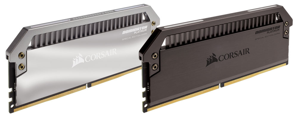 CORSAIR Launches DOMINATOR PLATINUM Special Edition DDR4 Memory