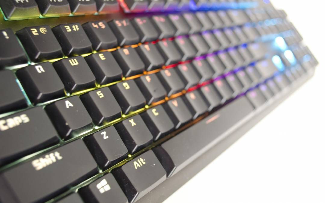 Tesoro GRAM Spectrum RGB Mechanical Keyboard Review