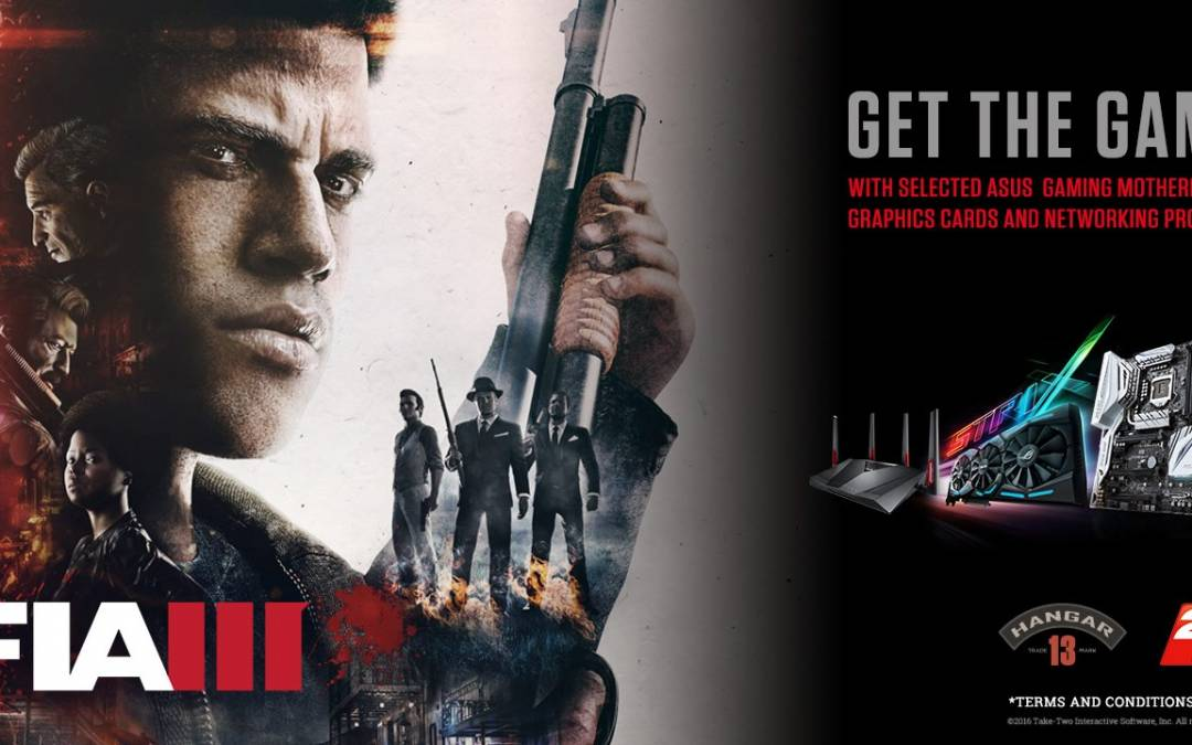 ASUS Announces Mafia III Game Bundles