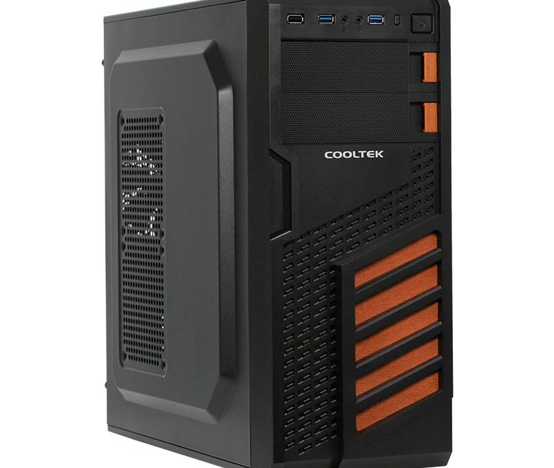 Cooltek's New MT-03 Mini Tower and the KX Orange & White