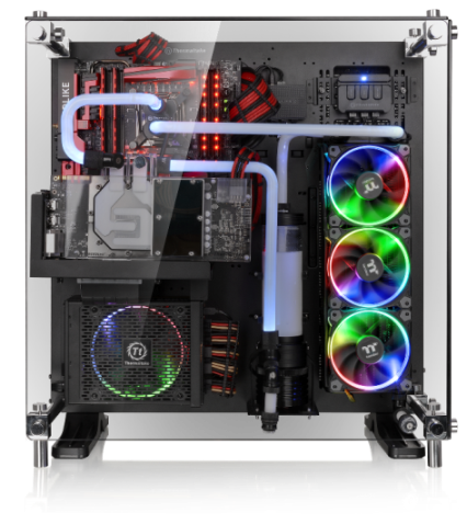 Thermaltake Unveils The Newest Core P5 Tempered Glass