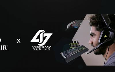 CORSAIR and Counter Logic Gaming Join Forces with Complete PC Gaming Peripheral Sponsorship