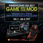 Thermaltake brands at CES 2017 – Foreword Thermaltake‧Tt eSPORTS‧LUXA2