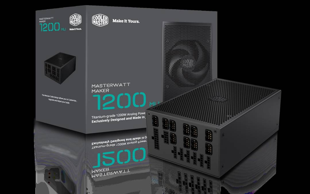 Cooler Master Launches MasterWatt Maker 1200 MIJ