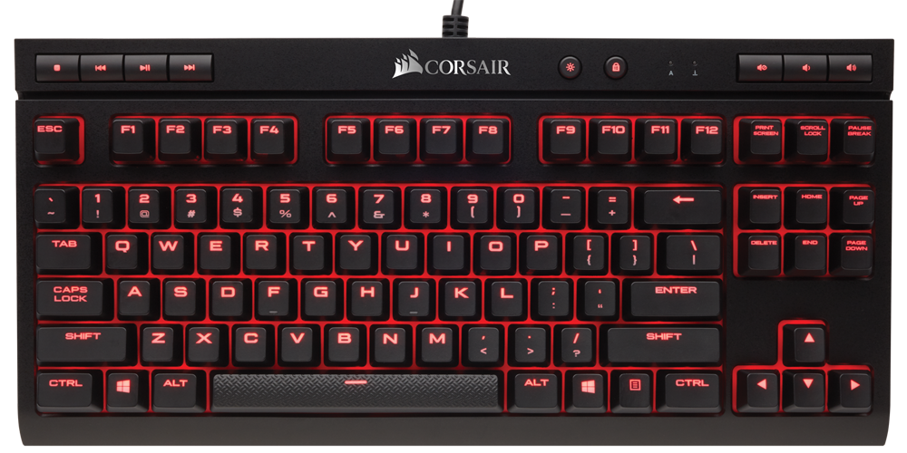 CORSAIR Announces New Tenkeyless K63 Mechanical Gaming Keyboard