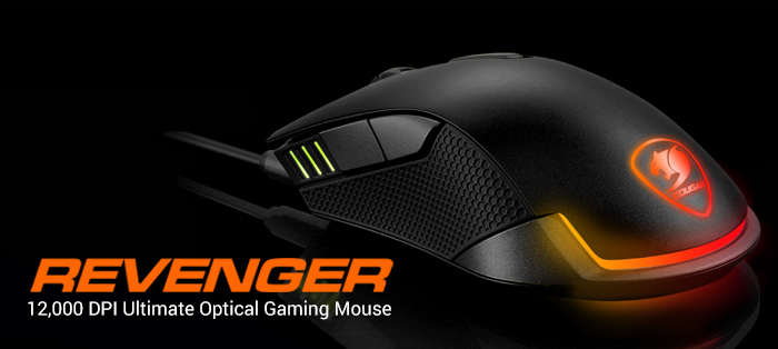 COUGAR Revenger-12,000 DPI Ultimate Optical Gaming Mouse