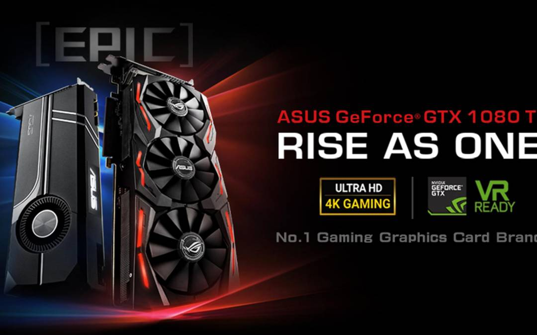 ASUS Announces ROG Strix GeForce GTX 1080 Ti  and Turbo GeForce GTX 1080 Ti