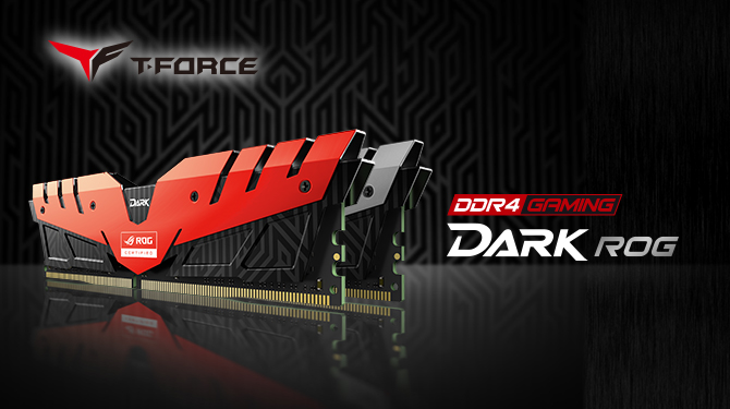 Team Group Officially Announces the T-FORCE DARK Series Memory