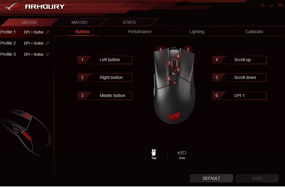 ASUS ROG GLADIUS II Gaming Mouse Review - EnosTech com