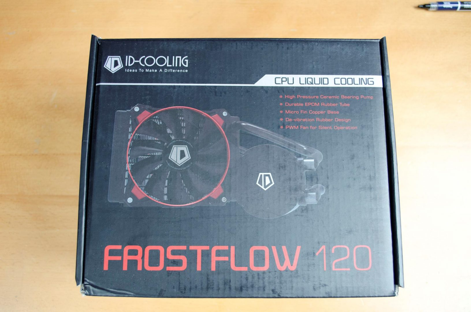ID COOLING FROSTFLOW 120 CPU COOLER REVIEW