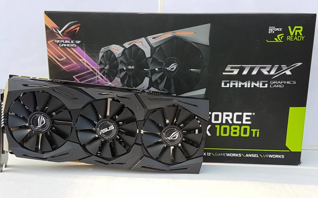 ASUS ROG Strix GeForce® GTX 1080 Ti