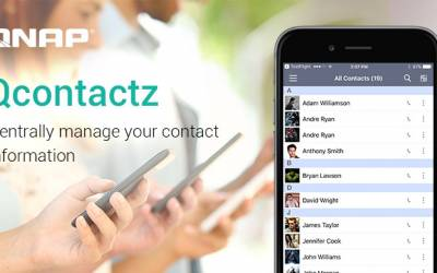 QNAP Releases the Qcontactz Mobile App for Centrally Managing Contact Information on the QNAP NAS