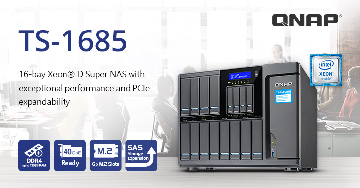 QNAP Introduces Robust TS-1685