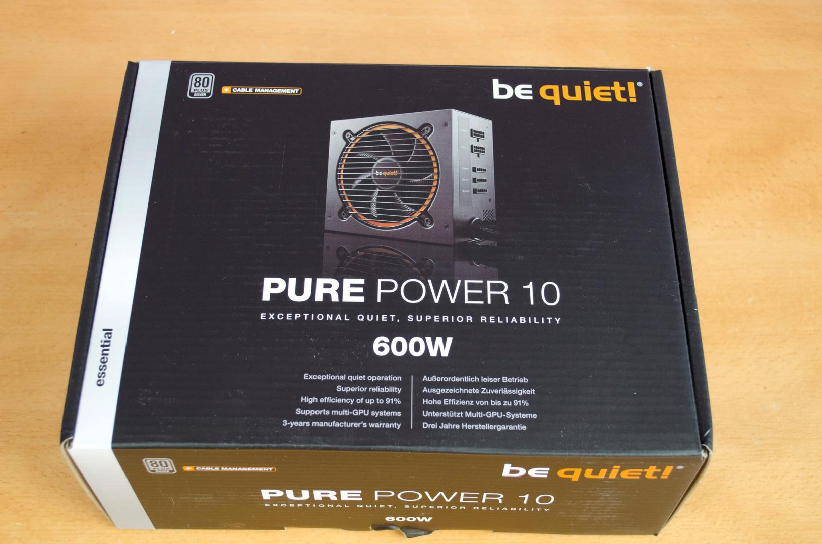 be quiet pure power 10 600w psu