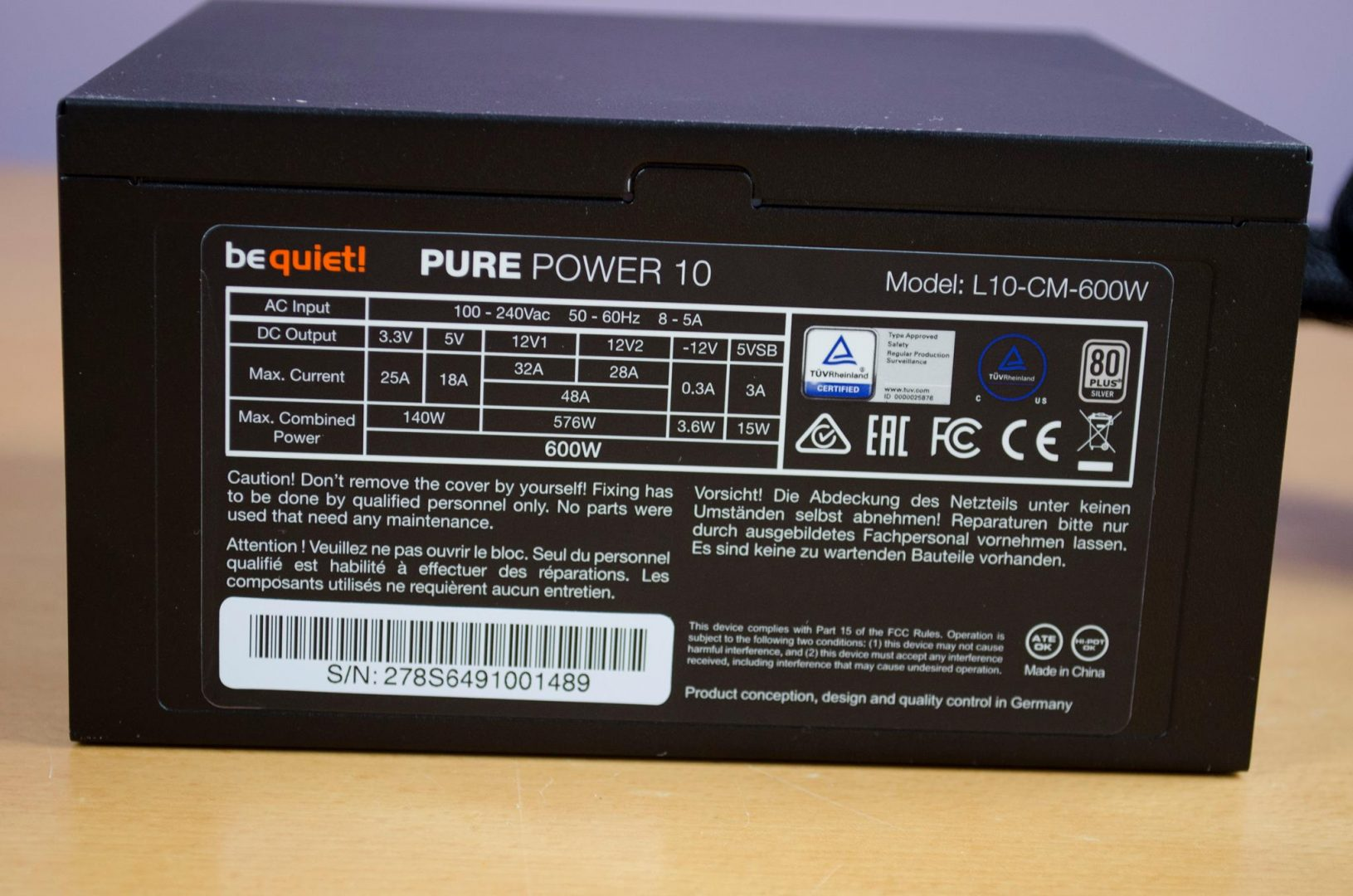 be quiet pure power 10 600w psu_7