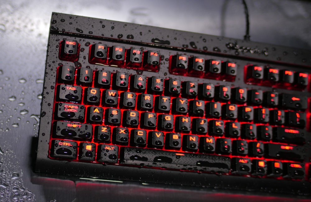 CORSAIR Launches Dust and Spill Resistant K68 Gaming Keyboard