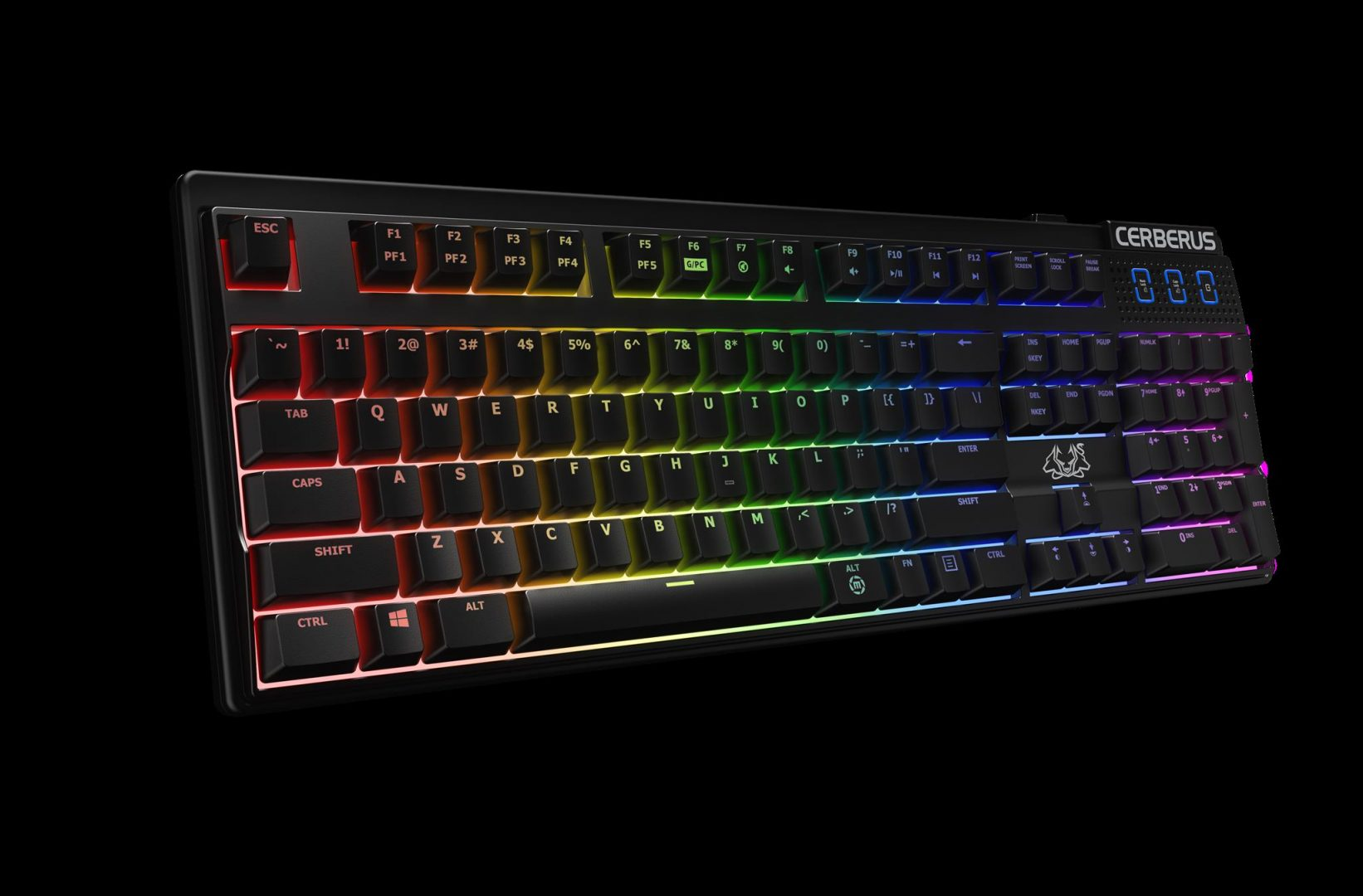 Cerberus Mech RGB gaming keyboard-1