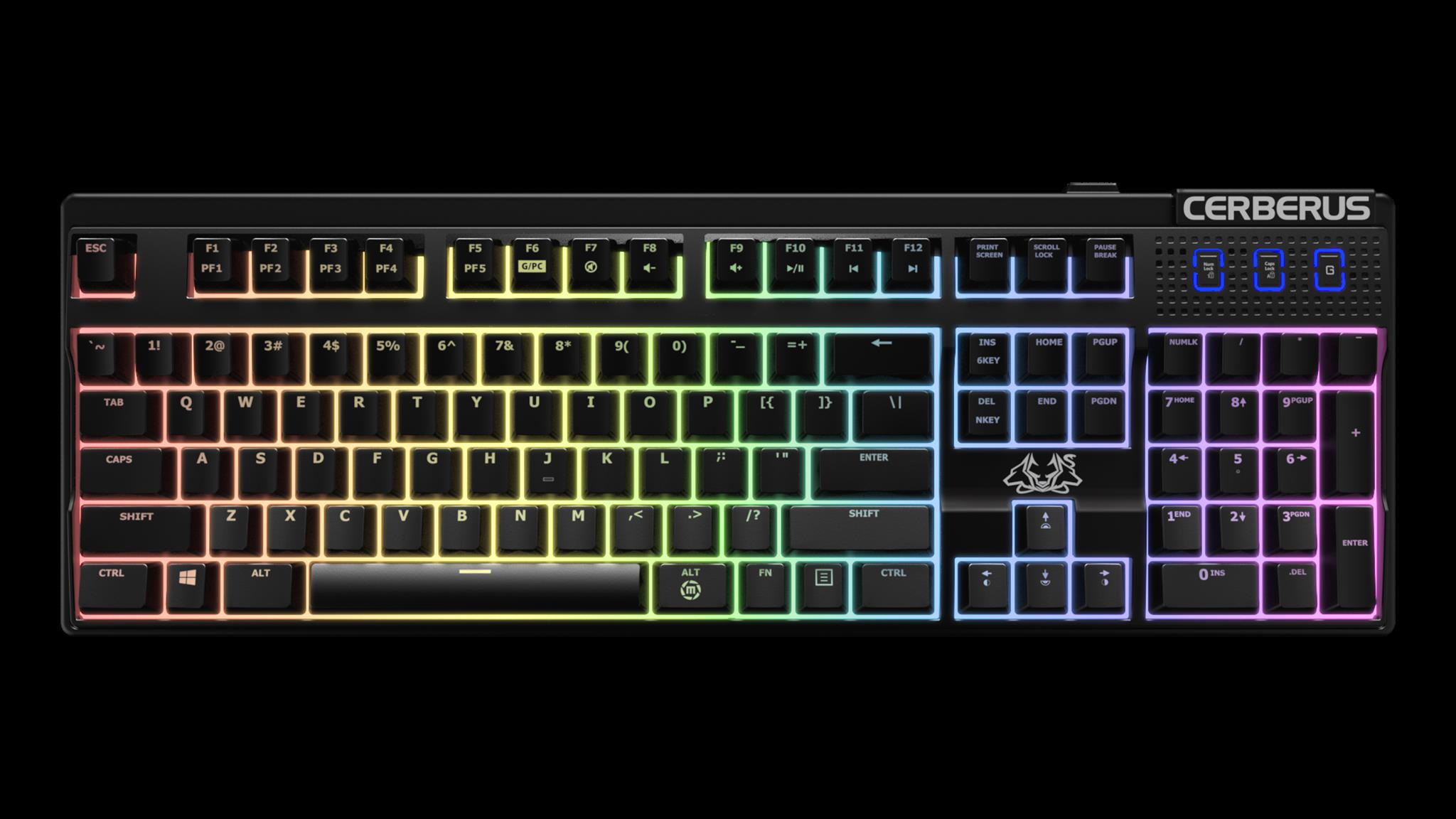 Cerberus Mech RGB gaming keyboard-2