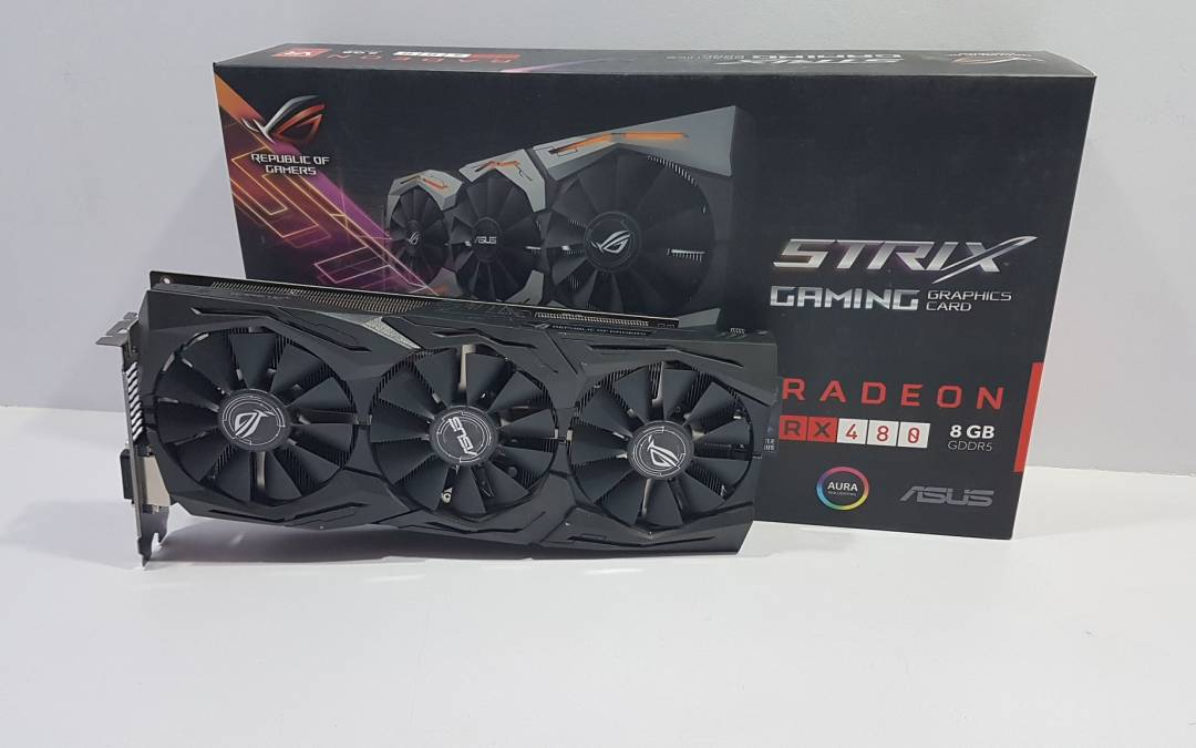 ASUS STRIX RX480 O8G Review