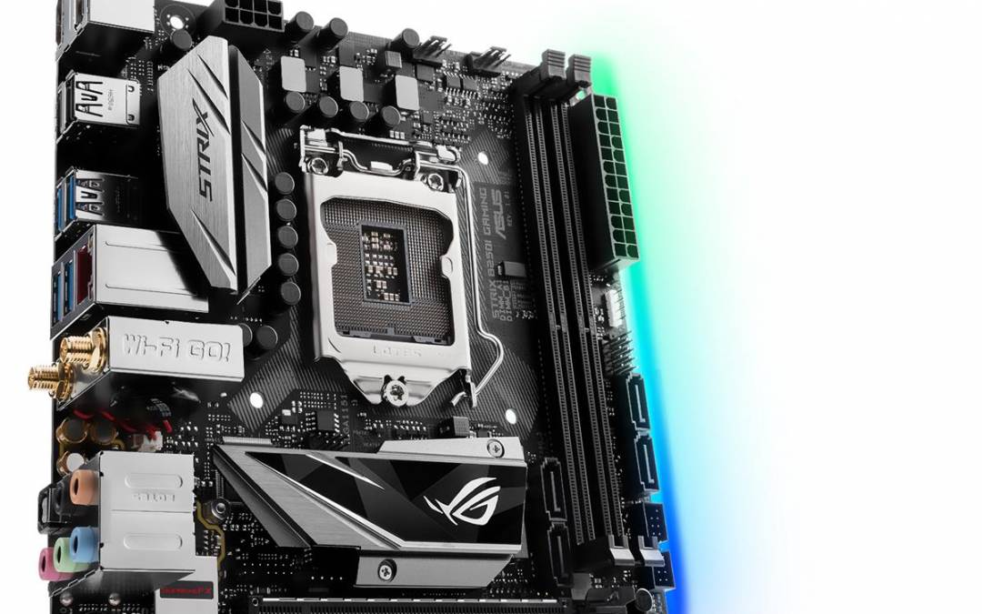 ASUS Republic of Gamers Announces Strix H270I Gaming and B250I Gaming