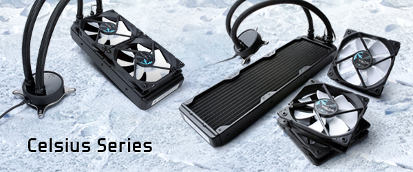 Fractal Design Releases New Celsius series All in One Water Cooling