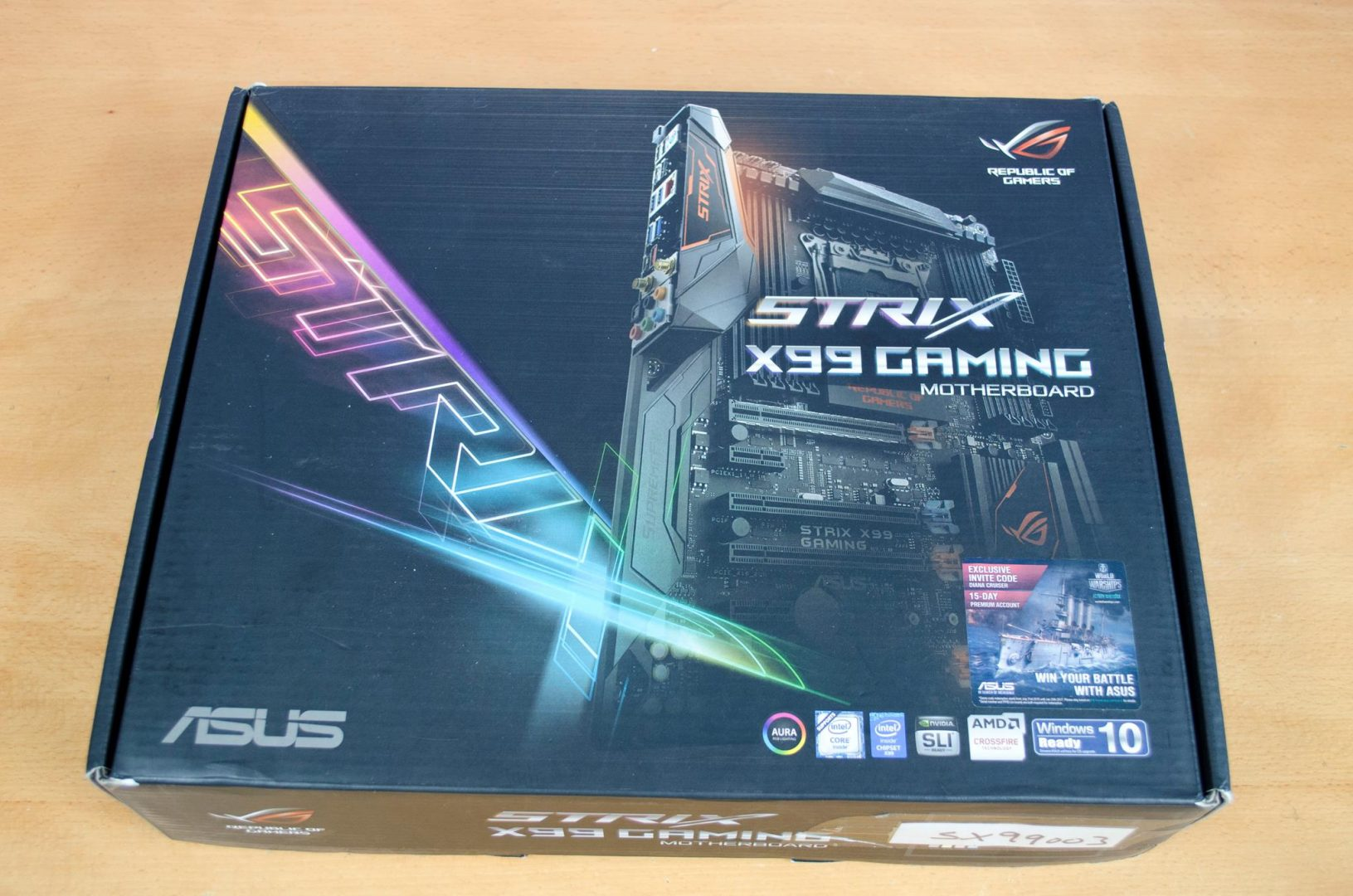 asus rog strix x99 gaming motherboard review
