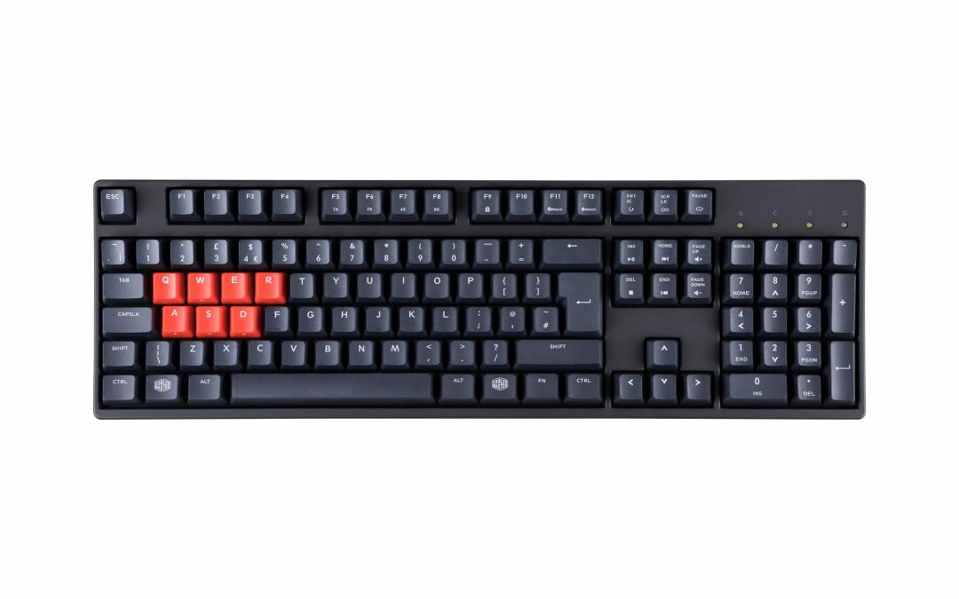 Cooler Master Launches Enthusiast PBT Keycap Mechanical Keyboards