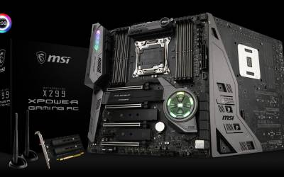 MSI FIRES UP THE NEW X299 XPOWER GAMING AC MOTHERBOARD