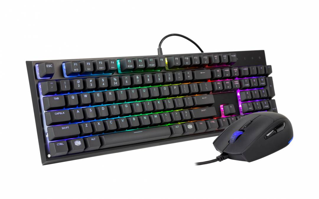 Cooler Master Introduces the MS120: Mem-chanical Clicky Keyboard and Mouse Combo Set