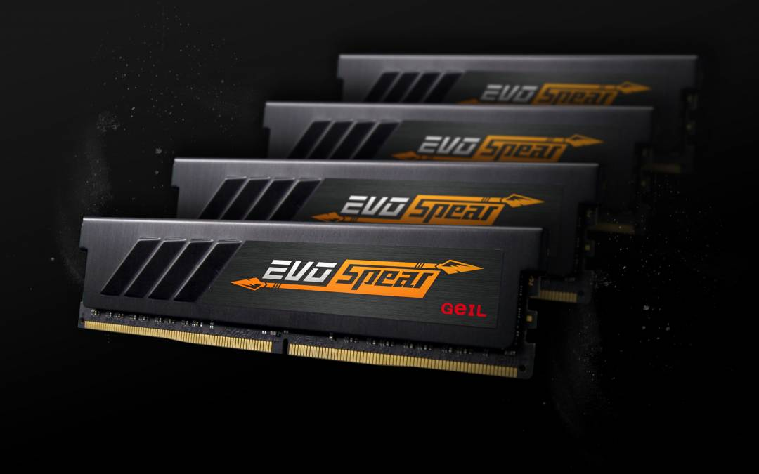 GeIL Releases EVO SPEAR DDR4 Hardcore Memory for PC Gamers