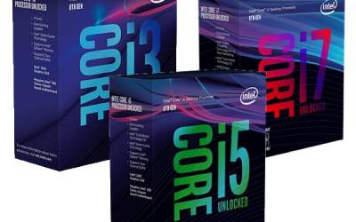 Intel 8th Generation Processors (Coffee Lake) Available From Overclockers UK