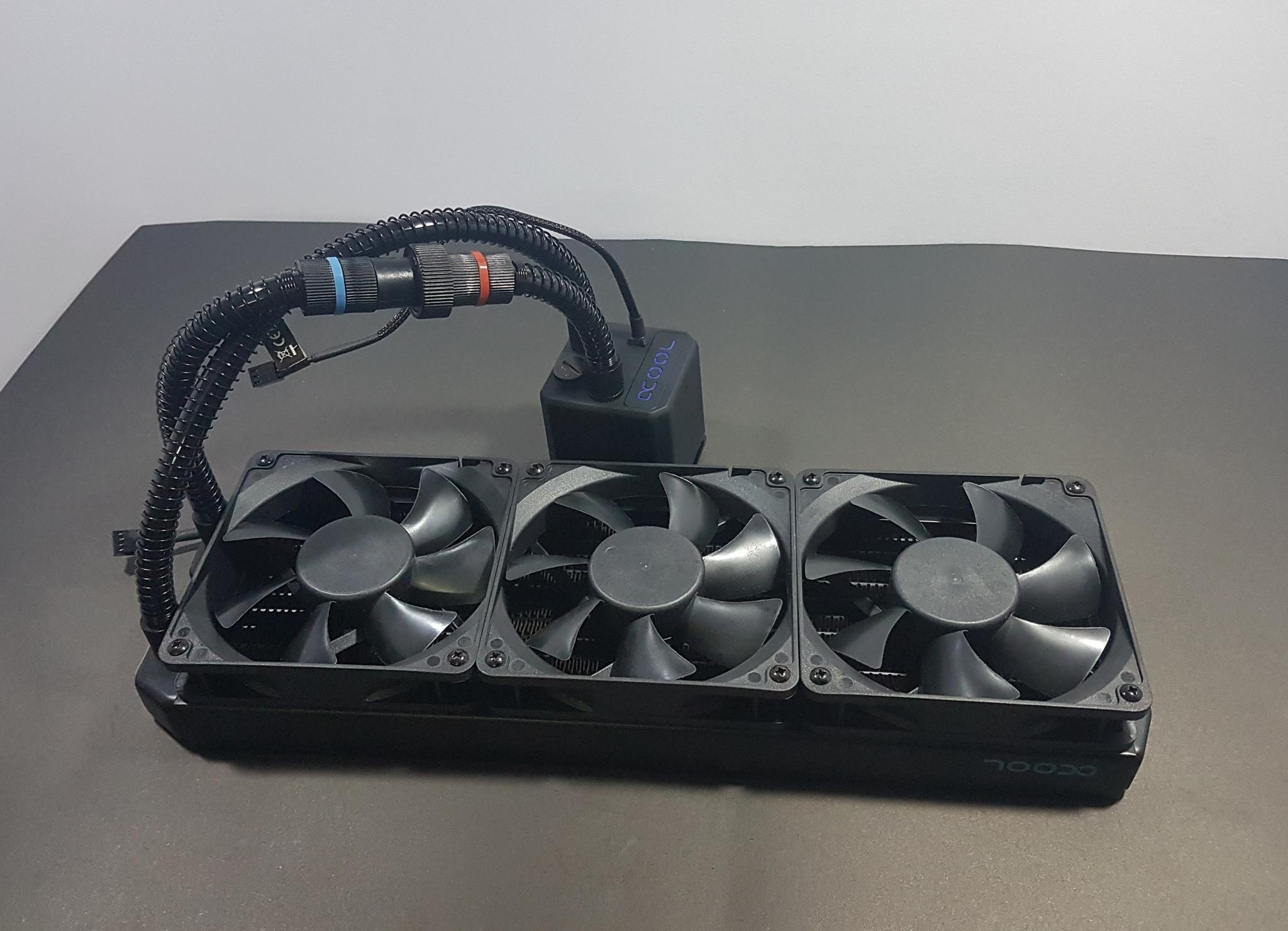 Alphacool Eisbaer 360mm Modular Aio Cpu Cooler Black Pin To 3pin Power Connector For Or System Fan Oem Pack Start Threading Them Diagonally Connect The Cables On Headers Of Motherboard This Would Complete Installation Lga 1151