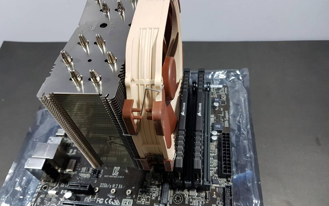 Noctua NH-U14S U-Type Tower CPU Cooler Review