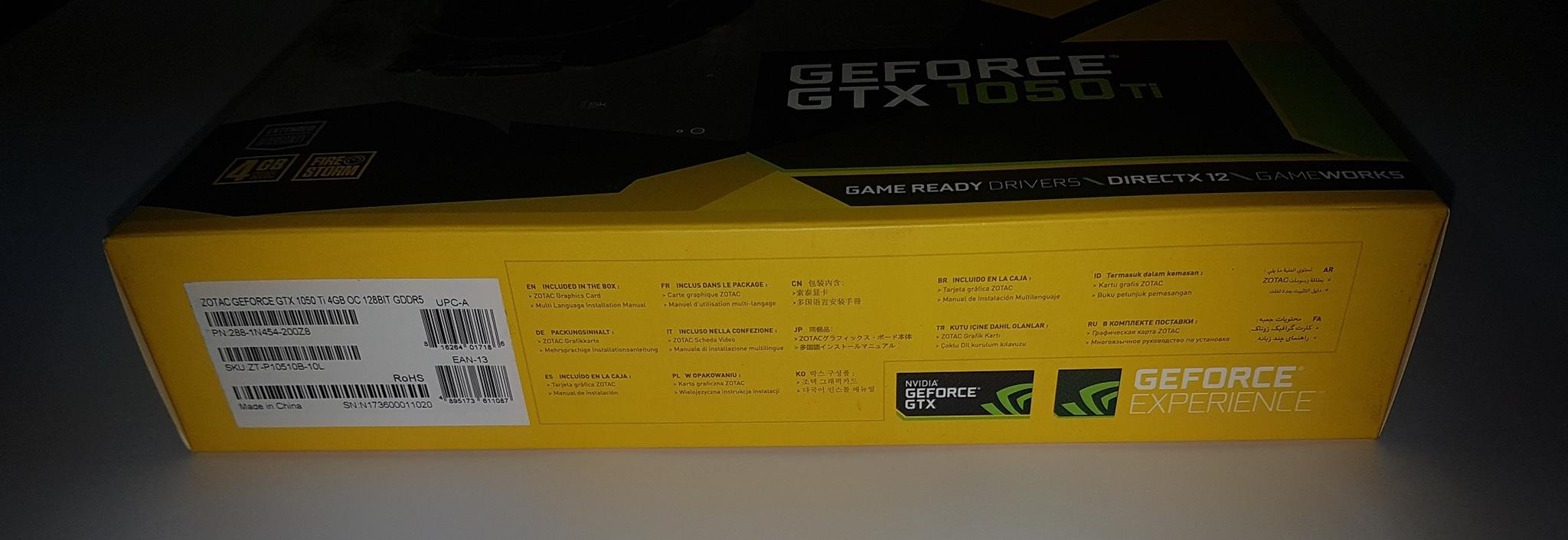 ZOTAC GeForce GTX 1050Ti OC Edition Graphics Card Review