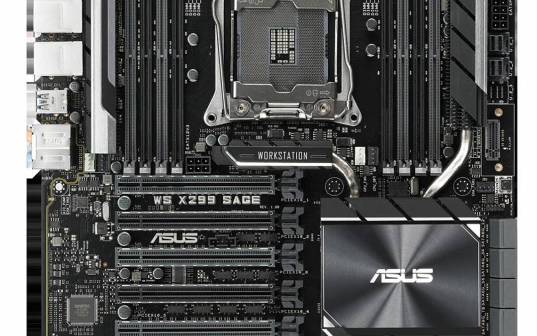 ASUS Announces X299 WS Series Motherboards