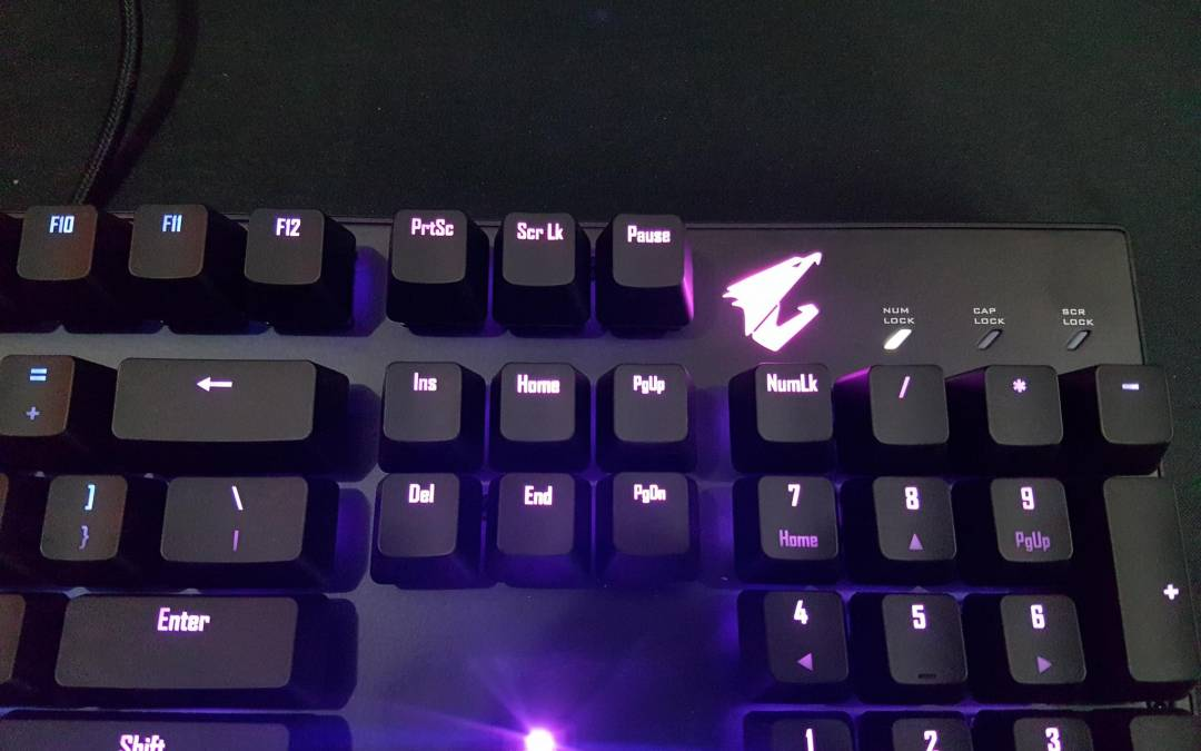 Aorus K9 Optical Flaretech Mechanical Keyboard