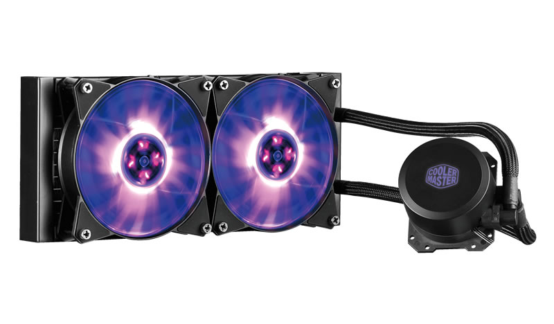 Cooler Master Announces MasterLiquid ML240L and ML120L RGB AIO CPU Coolers