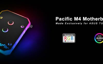 Thermaltake Partners with ASUS to Launch New Pacific M4 Motherboard Water Block