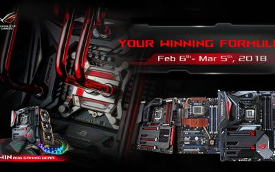 ASUS Republic of Gamers Announces Your Winning Formula Campaign