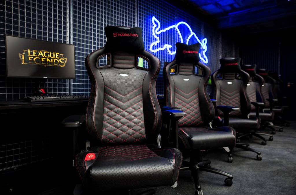 Red Bull Gaming Sphere Partners with noblechairs for the largest public esports studio in the UK