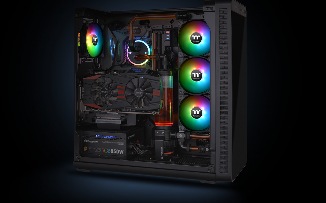 Thermaltake Releases New Pure Plus 12 LED RGB Radiator Fan TT Premium Edition