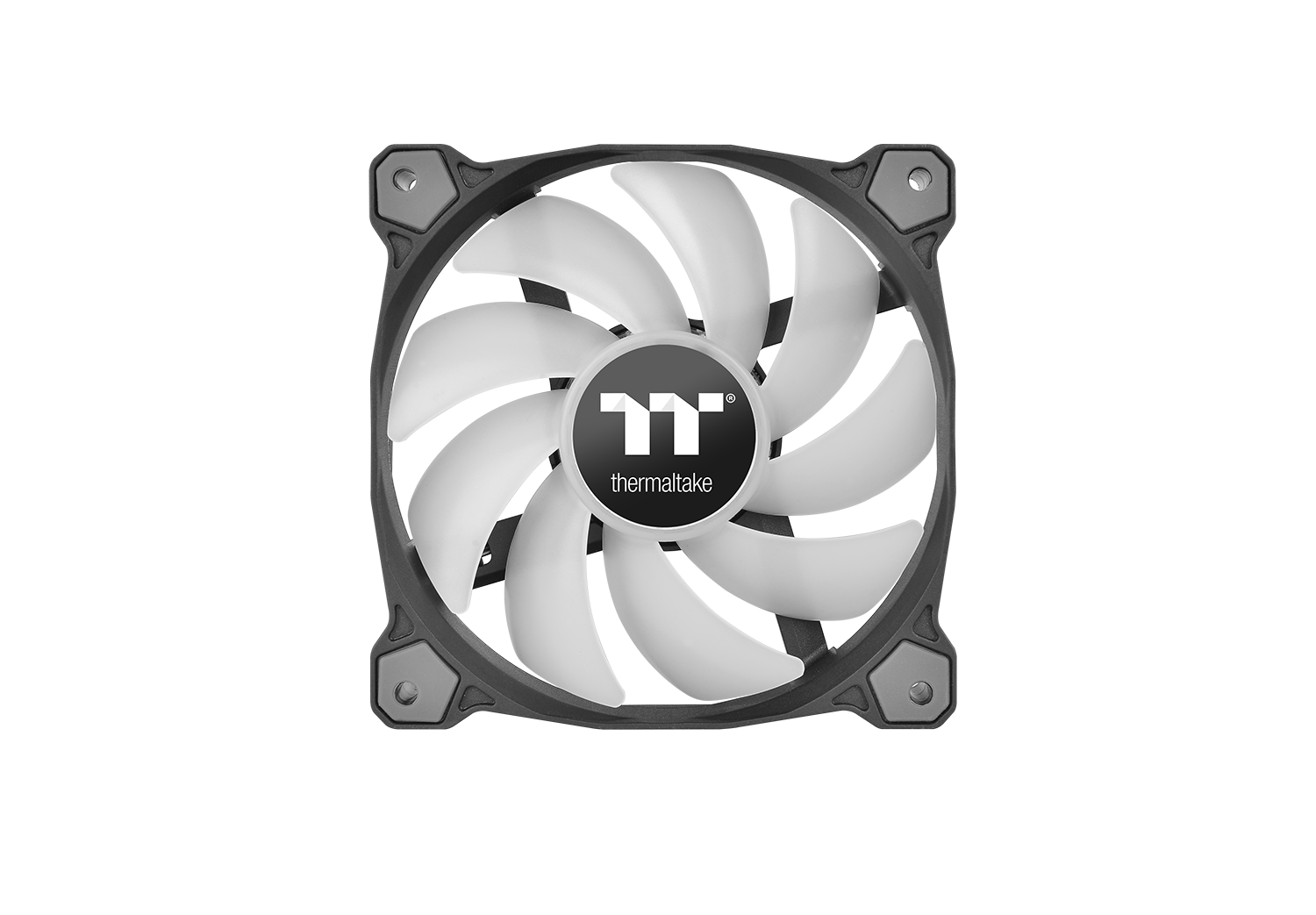 Thermaltake Releases New Pure Plus 12 Led Rgb Radiator Fan