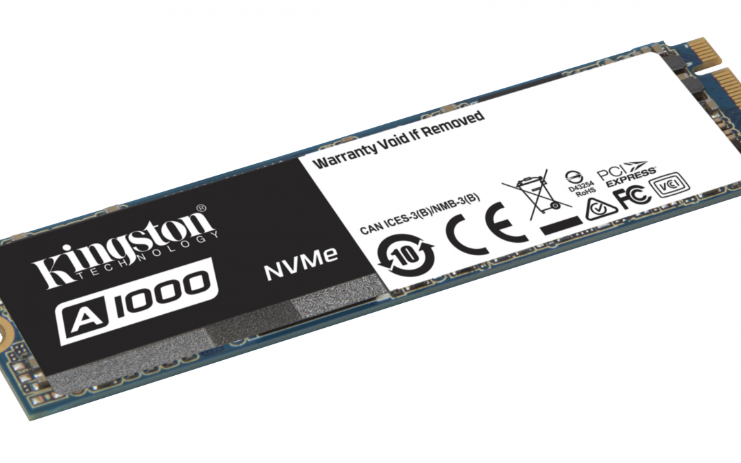 Kingston Introduces Entry-level NVMe PCIe SSD