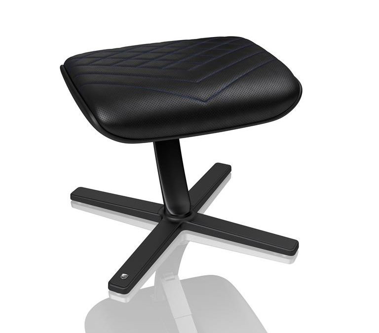 The noblechairs Footrest is now in stock