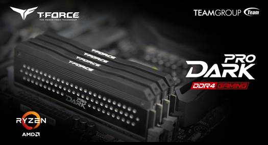 TEAMGROUP Announces New Specification DDR4 memory for AMD Ryzen CPUs Up to 3466 MHz